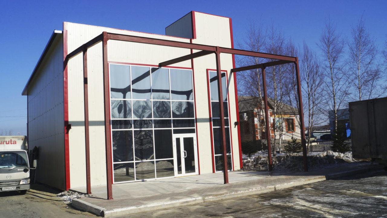 Административное здание (п. Новый, ул. Первомайская, 6)